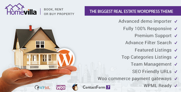 Home Villa | Real Estate WordPress Theme -